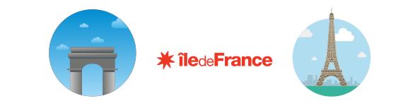 ile-de-france-drapeau