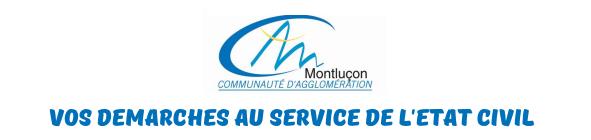 Montlucon etat civil