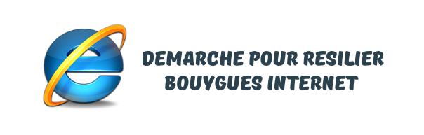 Resiliation internet Bouygues