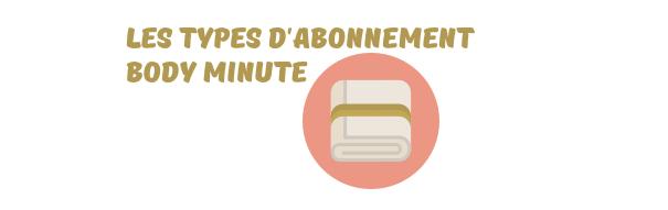 abonnement body minute