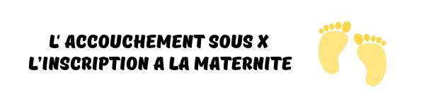 accouchement sous x