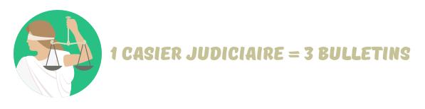casier judiciaire vierge