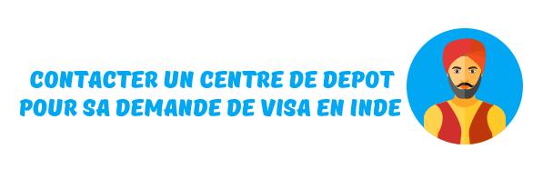 centre depot visa inde
