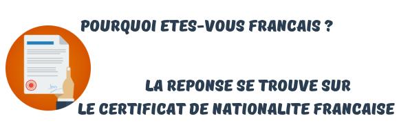 certificat nationalite française