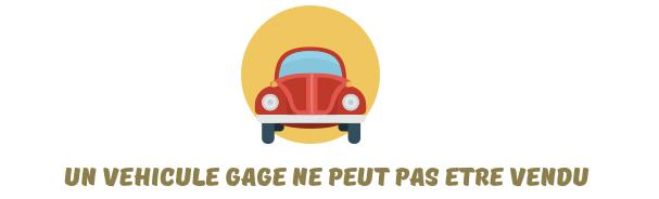 certificat non gage vehicule
