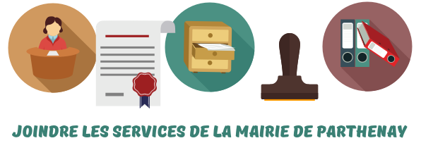 contact Parthenay services mairie