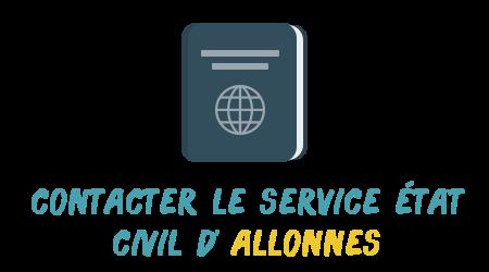 contact état civil allonnes