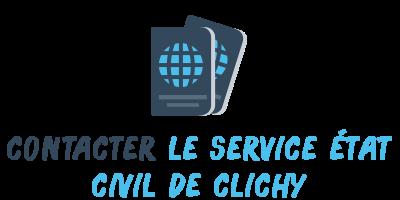 contact état civil clichy