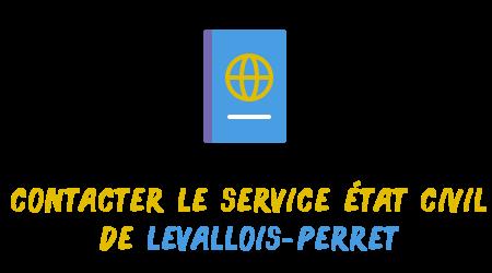 contact état civil Levallois-Perret