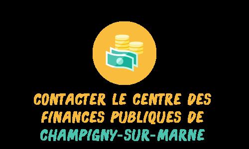 contact finances publiques champigny marne