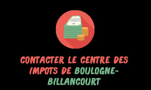 contact impôts boulogne-billancourt