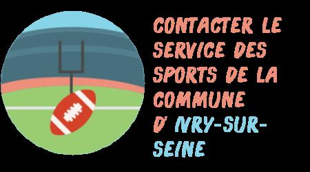 contact sports mairie Ivry-sur-Seine