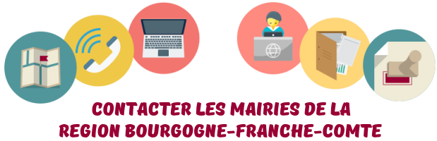 contacter mairies Bourgogne-Franche-Comte