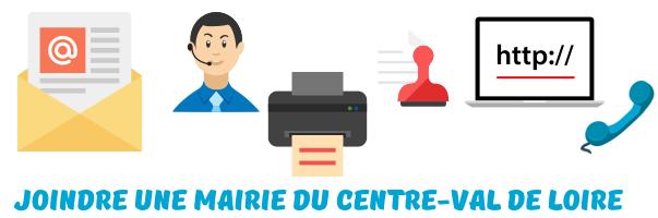 contacter mairies Centre-Val de Loire