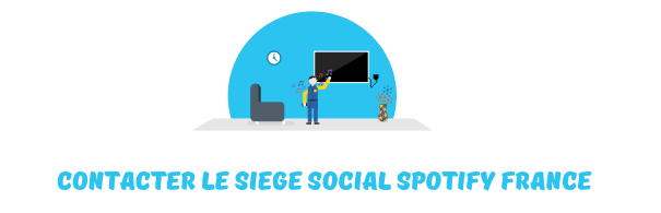 contacter siege social spotify