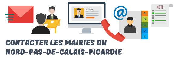 contacts mairies Nord-Pas-de-Calais-Picardie