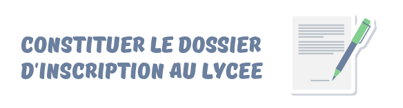 dossier inscription lycee