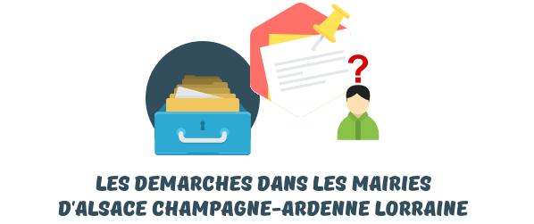 mairie Alsace Champagne-Ardenne Lorraine