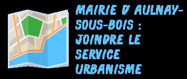 mairie aulnay-sous-bois urbanisme