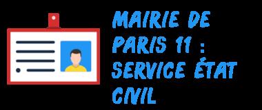 mairie paris 11 civil