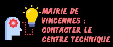 mairie vincennes service technique