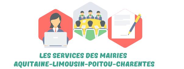 mairies Aquitaine-Limousin-Poitou-Charentes