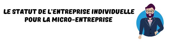 micro-entreprise auto-entreprise