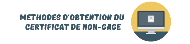 obtention certificats non gage