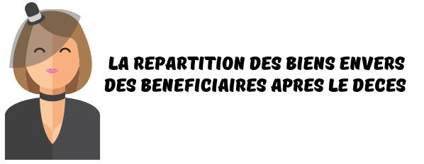 beneficiaires testament