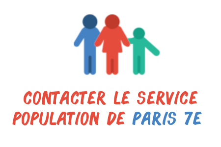 contact service population paris 7