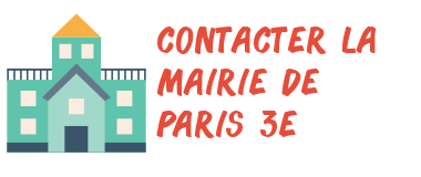 contact mairie paris 3