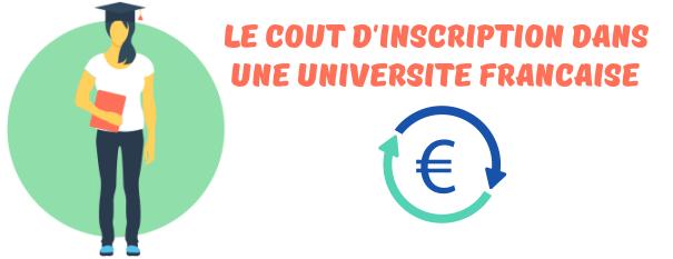 cout universite