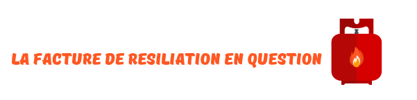 facture resiliation engie