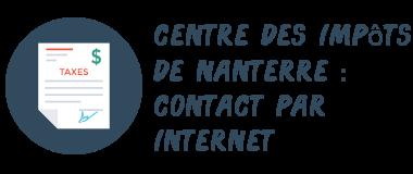 centre impôts nanterre internet