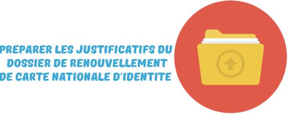 justificatifs renouvellement carte identite