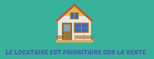 locataire prioritaire vente preemption
