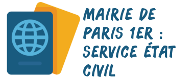 mairie paris 1er état civil