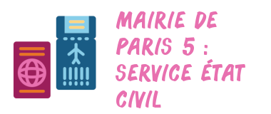 mairie paris 5 civil