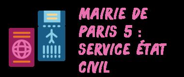 mairie paris 5 civil