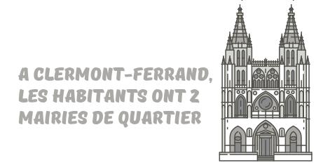 mairies quartier Clermont-Ferrand