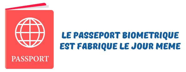 passeport biometrique urgent