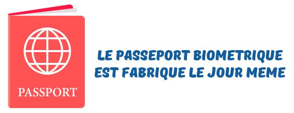 passeport biometrique urgent
