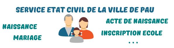 service Etat Civil Pau