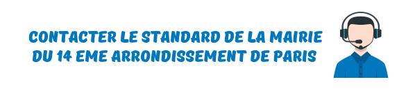 standard mairie paris 14