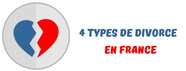 types divorce france