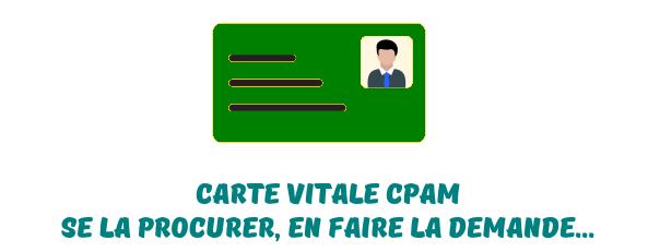 carte vitale CPAM