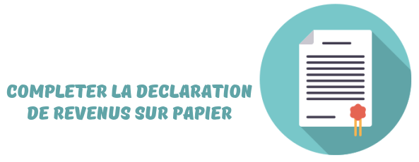 declaration revenus impots papier