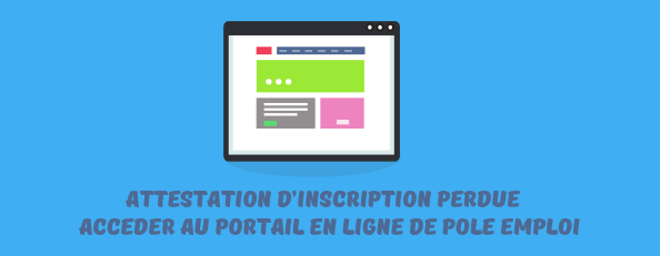 Attestation inscription perdue