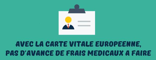 Carte vitale europeenne frais medicaux