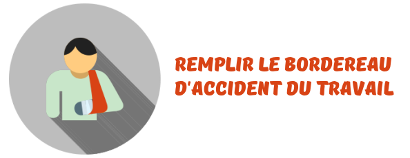 bordereau accident travail rsi